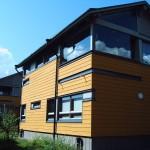 I pasívní či nízkoenergetické domy mohou mít velká prosklená okna.