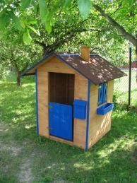 Skrýše pro děti: V dětském pokoji stan, na zahradě dřevěný domeček
