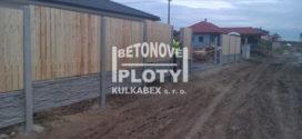 Betonové ploty – designové oplocení
