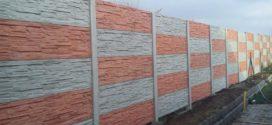 Betonový plot je univerzální volba pro každou nemovitost