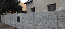 Realizace betonového plotu: Zvolte si design a parametry přes internet
